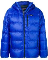 Patagonia - Hooded Padded Coat - Lyst