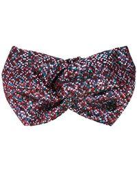 Maison Michel - Knot Detail Headband - Lyst