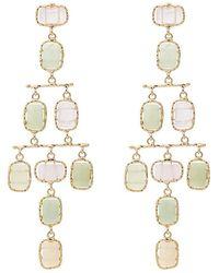 Rosantica - Tiered Multi Stone Earrings - Lyst