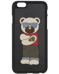 Furla - Bear Patch Iphone 6 Case - Lyst
