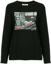 G.V.G.V.FLAT - Printed Crewneck Sweatshirt - Lyst