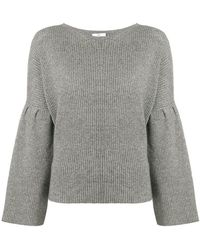 Allude - Flared Sleeve Jumper - Lyst