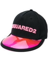 a258db5d925 DSquared² Jewelled Tiara Cap in Black - Lyst