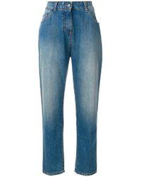 Twin Set   Straight Leg Jeans   Lyst