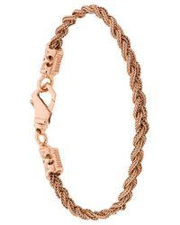 Emanuele Bicocchi   Braided Style Bracelet   Lyst