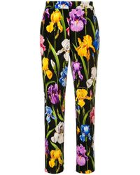 Dolce & Gabbana - High-waisted Tailored Trousers - Lyst