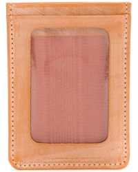 Whitehouse Cox - Clear Window Cardholder - Lyst