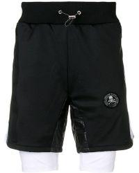 Philipp Plein - Xyz Scratch Shorts - Lyst