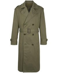 Hysteric Glamour - Classic Trench Coat - Lyst