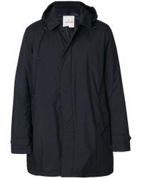 Moncler - Hooded Coat - Lyst