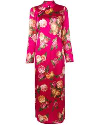 F.R.S For Restless Sleepers - Rose Print Shift Dress - Lyst