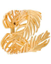 Oscar de la Renta - Palm Leaf Bracelet - Lyst