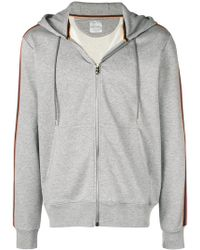 PS by Paul Smith - Zipped Hooded Sweatshirt - Lyst