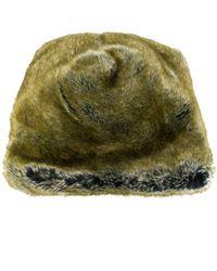 Faliero Sarti - Furry Flat Cap - Lyst