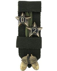 DSquared² - Branded Sheriff Brooch - Lyst