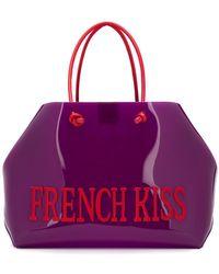 Alberta Ferretti - French Kiss Large Tote - Lyst