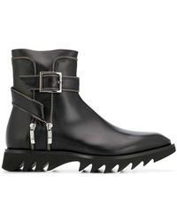 Cesare Paciotti - Flat Ankle Boots - Lyst