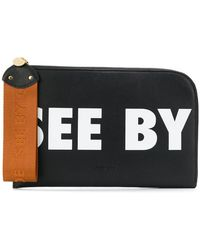 See By Chloé - Joris Zipped Wallet - Lyst
