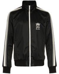 Dolce & Gabbana - Sportjacke mit Streifen - Lyst