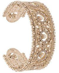 Marchesa notte - Cut-out Detail Cuff Bracelet - Lyst