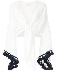 Suboo - Playa Tasselled Tie Top - Lyst