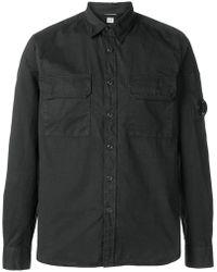C P Company - Lens Detail Shirt - Lyst