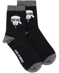 Karl Lagerfeld - K/ikonik Karl Socks - Lyst