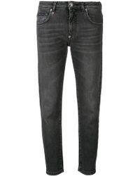 Philipp Plein - Cropped Jeans - Lyst