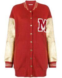 Mes Demoiselles - Knitted Varsity Jacket - Lyst