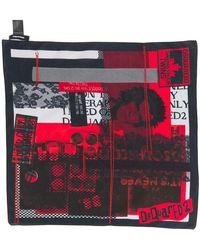 DSquared² - Foulard imprimé - Lyst