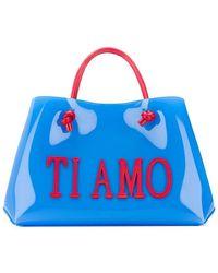 Alberta Ferretti - Ti Amo Shopping Tote Bag - Lyst
