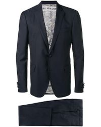 Etro - Patterned Two-piece Suit - Lyst