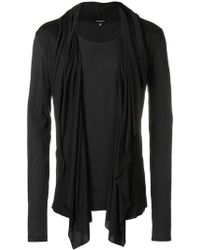Unconditional - Draped Front T-shirt - Lyst