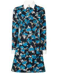 Dalood   Side Button Floral Print Dress   Lyst