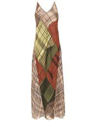 Mara Mac - Long Printed Dress - Lyst