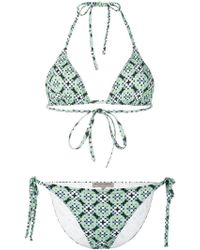 Bottega Veneta - Dotted Print Bikini - Lyst