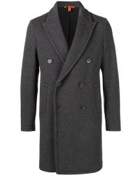 Barena - Double Breasted Coat - Lyst