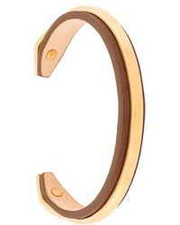 Northskull - Vergoldetetes Silberarmband - Lyst