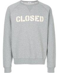 Closed - Logo Sweatshirt - Lyst