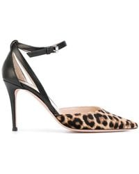 PS by Paul Smith - Pointed Leopard Pumps - Lyst