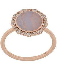 Astley Clarke - Lace Agate Luna Ring - Lyst
