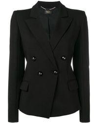 Liu Jo - Double-breasted Jacket - Lyst