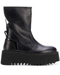 Bruno Bordese - Platform Sole Boots - Lyst