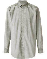 Massimo Alba - Micro Print Genova Shirt - Lyst