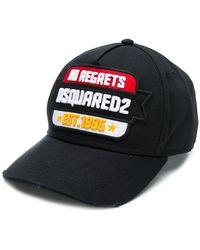 DSquared² - No Regrets Baseball Cap - Lyst