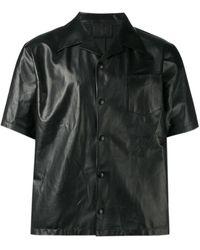 Prada Camp Collar Shirt