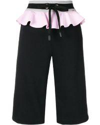 NO KA 'OI - Ruffled Waist Shorts - Lyst