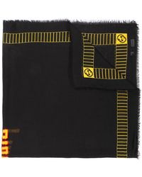 Gucci - Knitted Logo Scarf - Lyst