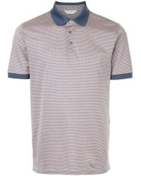 Gieves & Hawkes - Houndstooth Polo Shirt - Lyst
