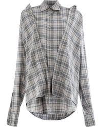 Moohong - Plaid Shirt - Lyst